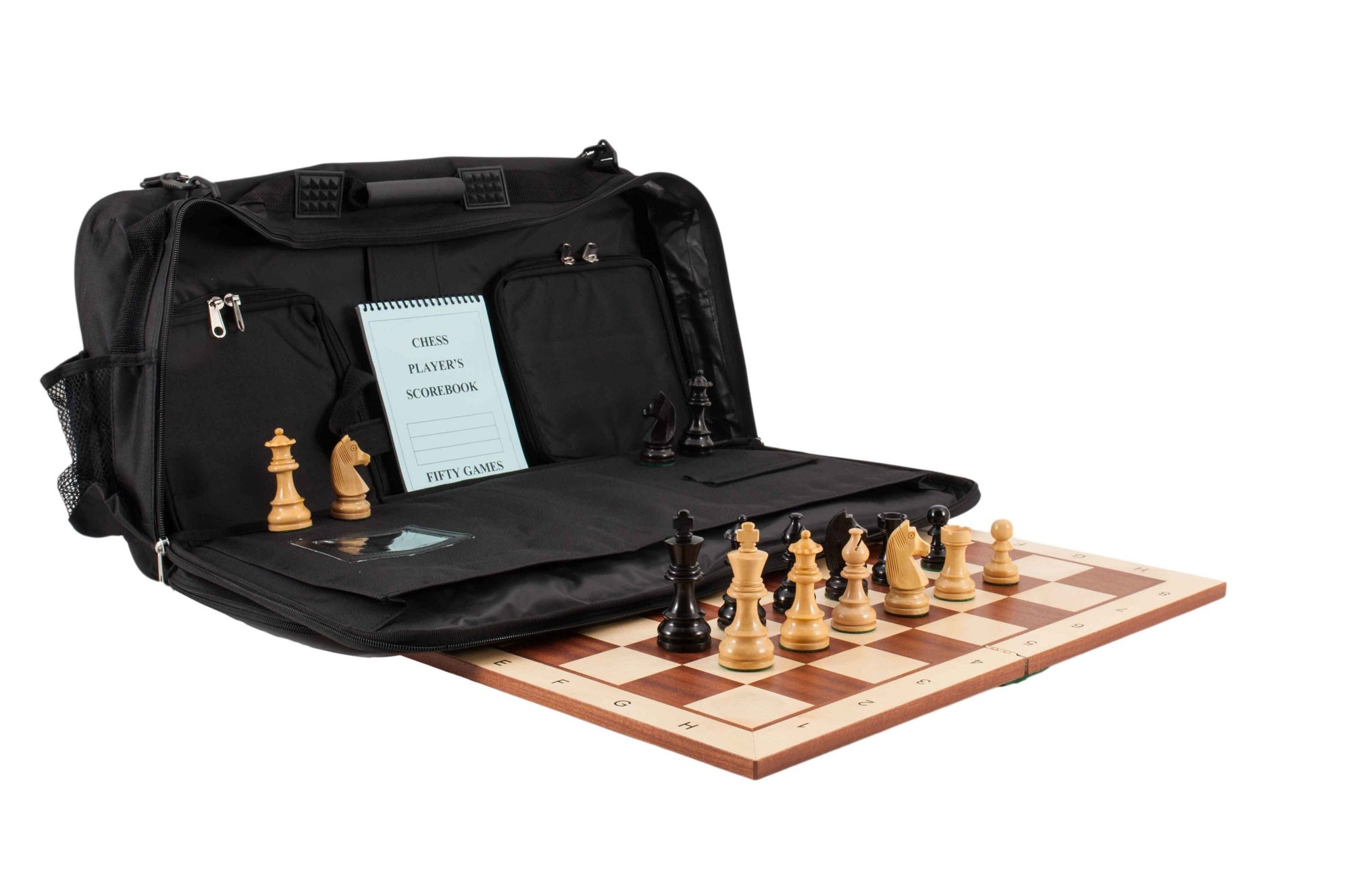 USCF Sales The House of Staunton Deluxe Tournament Chess Bag