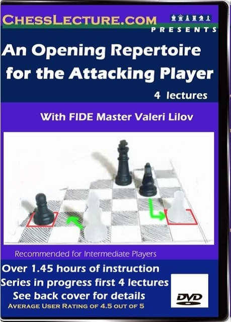 An Opening Repetoire for the Attacking Player Front