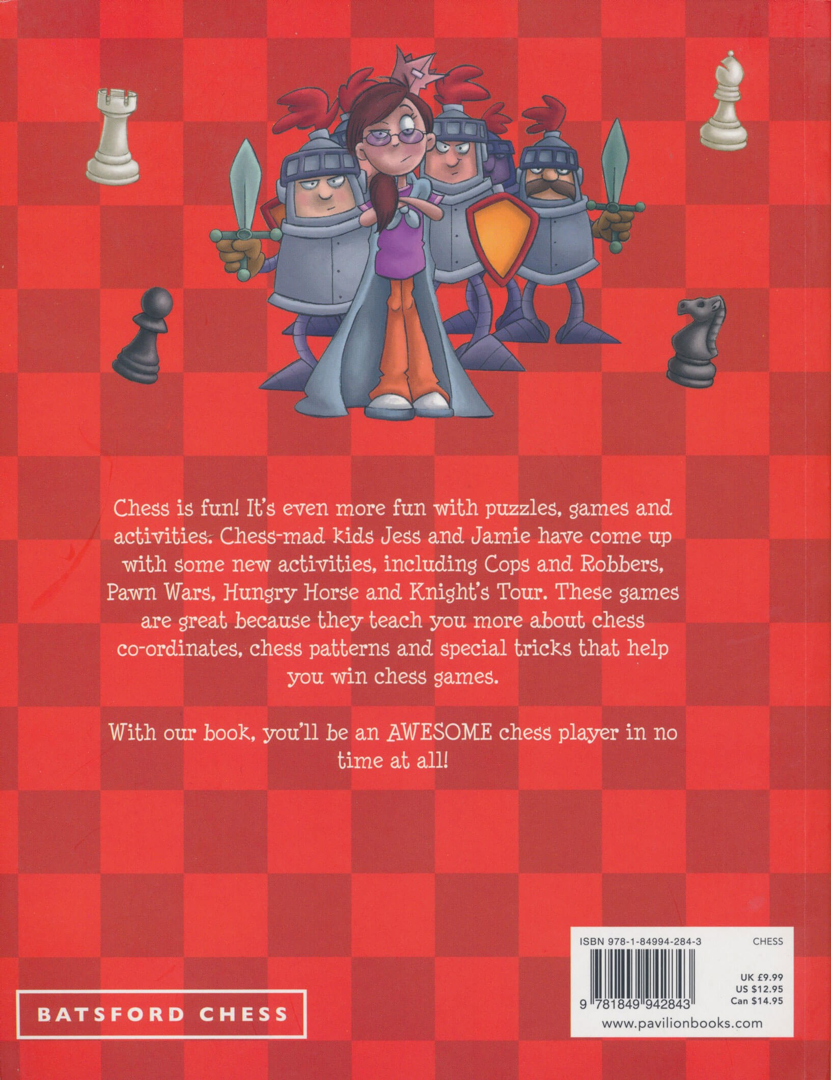 CHESS ACTIVITY BOOK