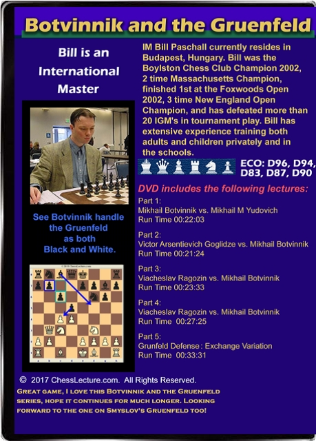 Botvinnik and the Gruenfeld Back