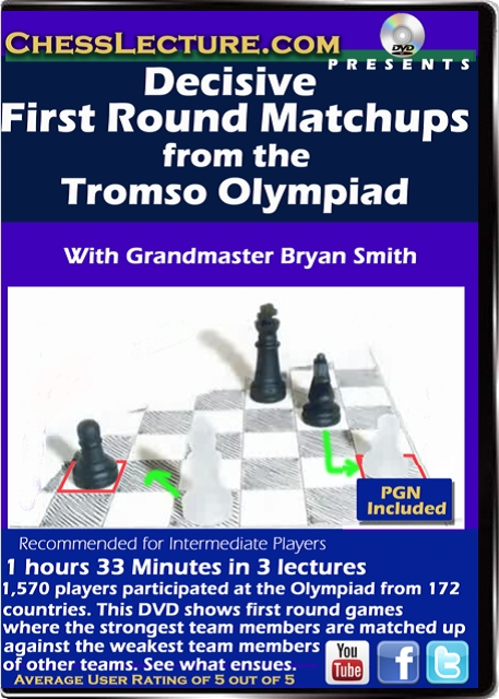 Decisive First Round Matchups from the Tromso Olympiad Front