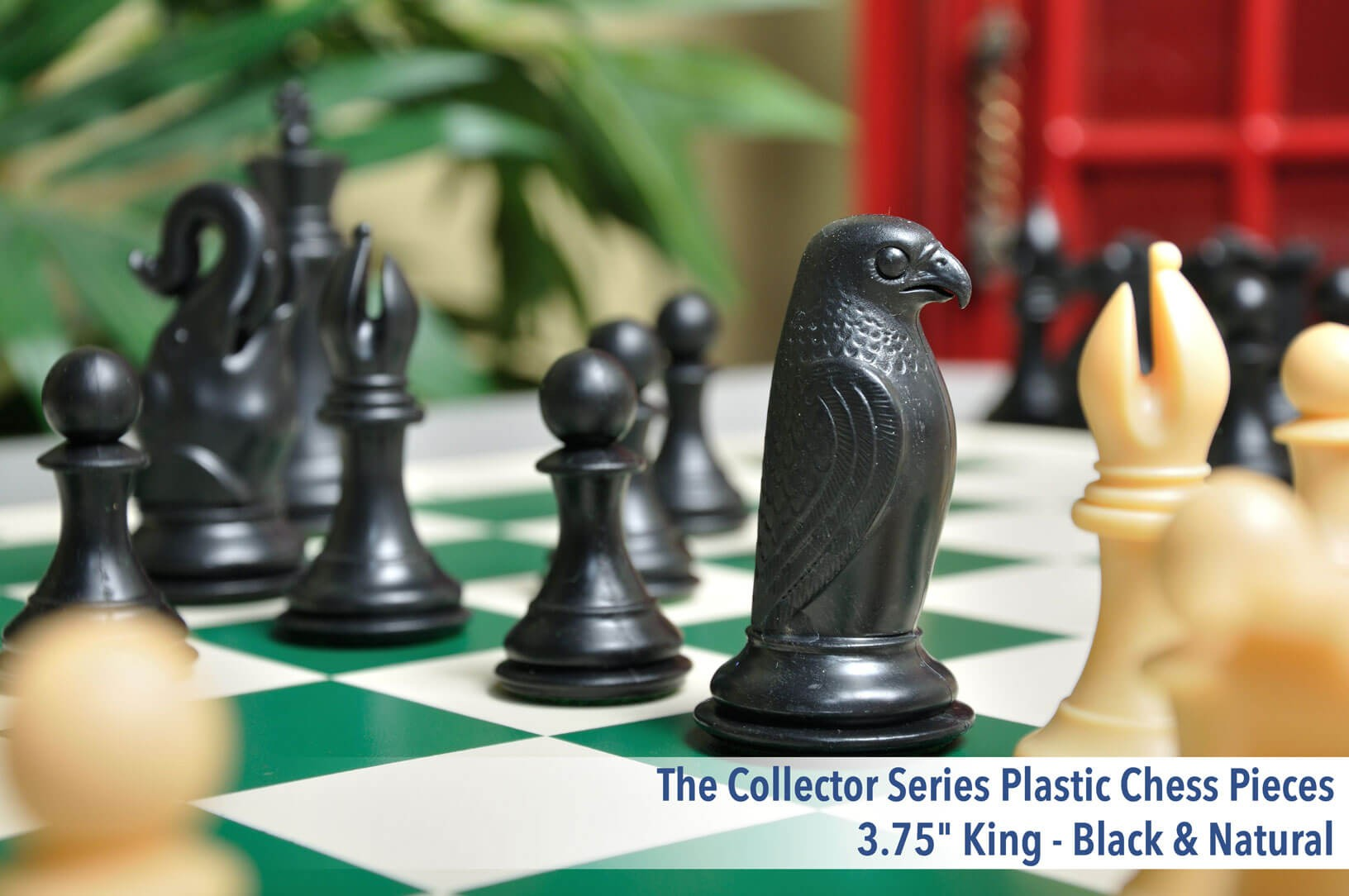 USCF Sales Elephant and Hawk Musketeer Chess Variant Kit 4 Set