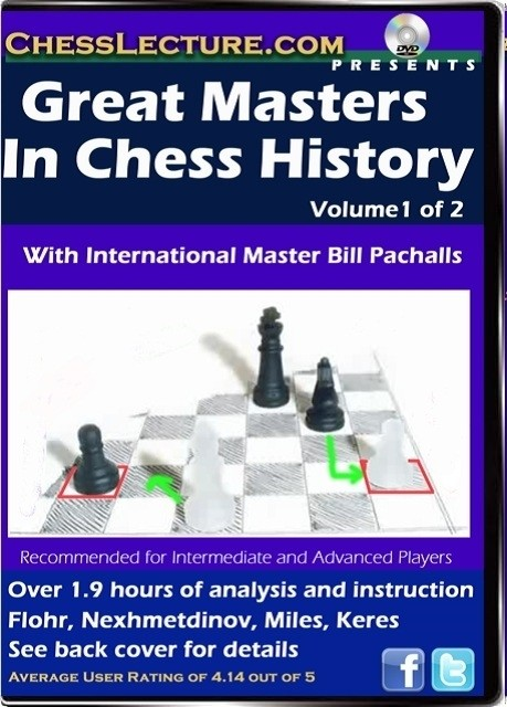 Great Masters in Chess History V2 front