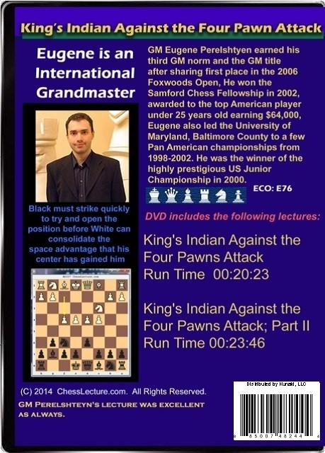 Kings Indian Against the Four Pawns Attack Back