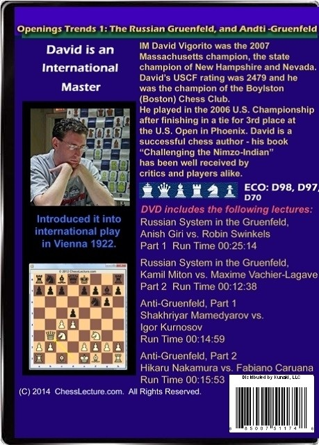 Opening Trends 1 - The Russian Gruenfeld and Anti-Gruenfeld Back