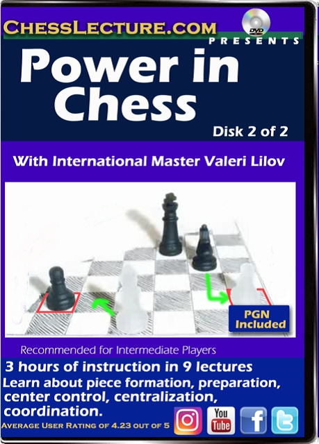 Power in Chess DVD Front Volume 2
