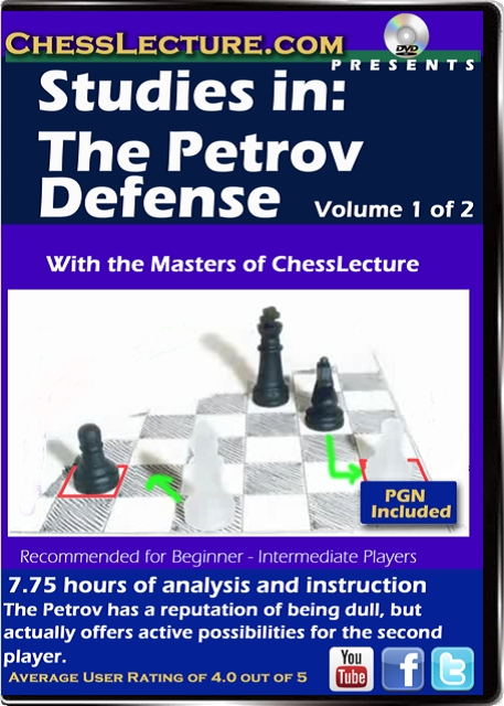 Studies in: The Petrov Defense V2 Front