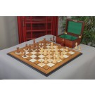 The Bedford Series Chess Set, Box, & Board Combination