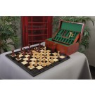 The Benevento Forever Series Wood Chess Set, Box, & Board Combination