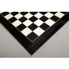 Blackwood and Bird's Eye Maple Standard Traditional Chess Board - Gloss Finish