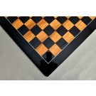 Blackwood and Olivewood Standard Traditional Chess Board - Gloss Finish