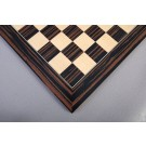 Macassar Ebony & Maple Standard Traditional Chess Board - Satin Finish