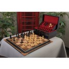 The Frank Camaratta Signature Luxury Wood Chess Set, Box, & Board Combination