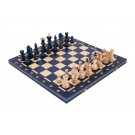 The Blue Ambassador Chess Set
