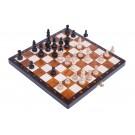 The Brown Magnetic Chess Set
