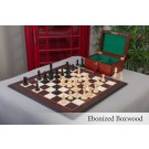 The Reykjavik II Series Chess Set, Box, and Board Combination