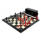 The Grandmaster Regal Series Chess Set, Box, & Board Combination
