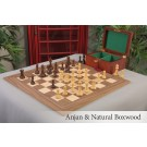 "The 4.0"" Fischer Series Chess Set, Box & Board Combination"