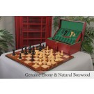 The Bolzano Series Luxury Chess Set, Box, & Board Combination