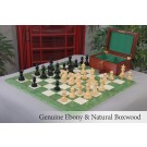 The Preston Series Chess Set, Box, & Board Combination