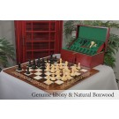 The Sultan Series Luxury Chess Set, Box, & Board Combination