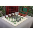 The Isle of Lewis Chess Set, Box, & Board Combination