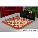 The Library Grandmaster Chess Set, Box, & Board Combination