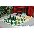 Musketeer Chess Dragon and Spider Kit Bundled with HOS Luxury Plastic Chess Pieces