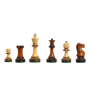 "The Burnt Golden Rosewood Grandmaster Series Chess Pieces - 4.0"" King"