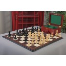 The Mechanics Institute Chess Set, Box, & Board Combination