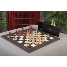 The Modern Series Chess Set, Box & Board Combination