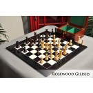 The Gilded Zagreb '59 Series Chess Set, Box, & Board Combination