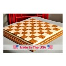 "Signature Contemporary IV Luxury Chess board - BOCOTE / CURLY MAPLE - 2.5"" Squares"