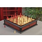 The Classical Staunton Series Chess Set & Tiroir Combination