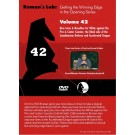 E-DVD ROMAN'S LAB - VOLUME 42 - New Lines & Novelties for White against the Pirc and Center Counter, and Black side of Scandinavian Defense & Accelerated Dragon