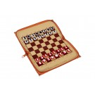 Russian Chess House Travel Chess Set