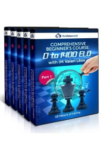 E-DVD Comprehensive Beginner's Course: 0-1400 ELO with IM Valeri Lilov