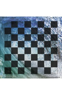 Catch the Wave - Full Color Vinyl Chess Board