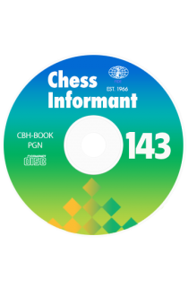 Chess Informant - Issue 143 on CD