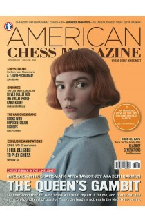 PRE-ORDER - AMERICAN CHESS MAGAZINE Issue no. 19