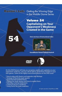 ROMAN'S LAB - VOLUME 54 - Capitalizing on Your Opponent's Weakness Created in the Game