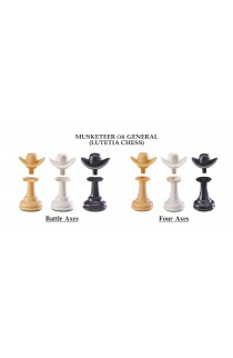 "The Next Gen Pawns Plastic Chess Pieces - 3.75"" King - General Variation"