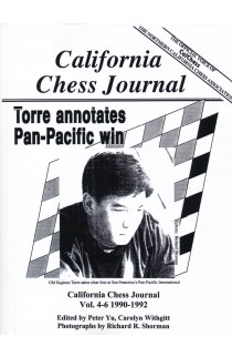 California Chess Journal - Volume 4-6 1990 - 1992