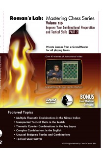 E-DVD ROMAN'S LAB - VOLUME 15 - Improve your Combinational Preparation and Tactical Skills - PART 2