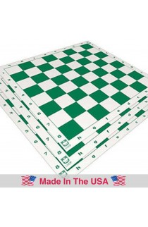 "Standard Paper Tournament Chess Board - 2.25"" Squares"
