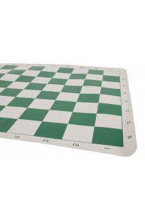 """Regulation Vinyl Tournament Chess Board - 2.25"""" Squares - ROUNDED CORNERS"""
