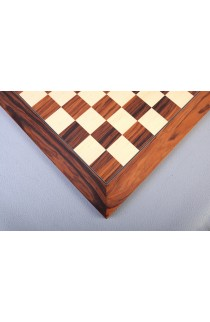 Santos Palisander Standard Traditional Chess Board - Satin Finish