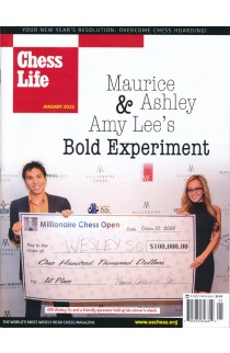 CLEARANCE - Chess Life Magazine - January 2015 Issue