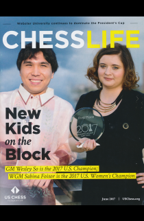 CLEARANCE - Chess Life Magazine - June 2017 Issue