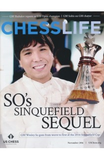 CLEARANCE - Chess Life Magazine - November 2016 Issue